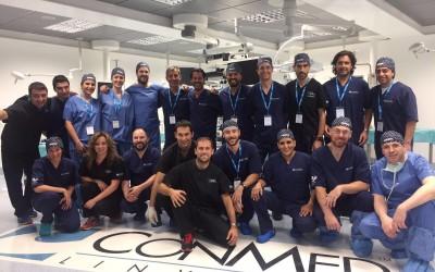Direcció del Curs Avançat d' Artroscòpia de genoll a Frankfurt el passat 20 d'Abril del 2017